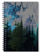 California Smoke Descends On Wyoming Spiral Notebook