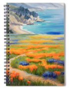 California Spring Big Sur Spiral Notebook
