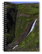 California Spring Falls Spiral Notebook