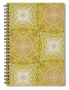 California Spring Oscillation Pattern Spiral Notebook