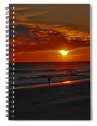 California Sun Spiral Notebook