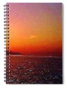California Sunset 4.2008 Spiral Notebook
