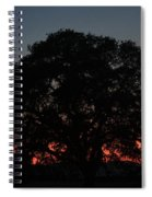 California Sunset Spiral Notebook