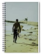 California Surfer Spiral Notebook