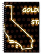 California - The Golden State Spiral Notebook