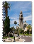 California Tower In Balboa Park Spiral Notebook