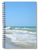 California Waves Spiral Notebook