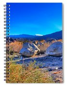 California Wilderness Panorama Spiral Notebook