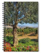 California Wine Country Spiral Notebook