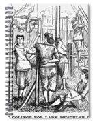Calisthenics, 1867 Spiral Notebook