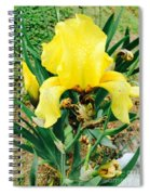 Call Me Yellow Spiral Notebook