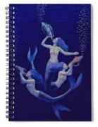Call Of The Mermaids Spiral Notebook