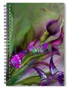 Calla Lilies Spiral Notebook