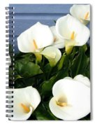 Calla Lilies- Oregon Spiral Notebook