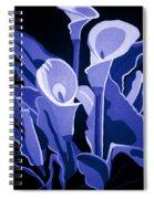 Calla Lilies Royal Spiral Notebook