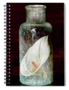 Calla Lily In A Bottle Spiral Notebook