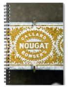 Callard And Bowser's Nougat Spiral Notebook
