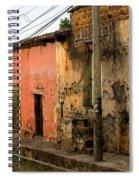 Calle En Suchitoto Spiral Notebook