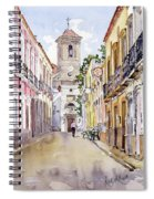 Calle Fuente Alhabia Spiral Notebook