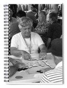 Calle Ocho Domino Park Spiral Notebook
