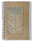 Calligraphy By Mir Ali And Muhammad Husayn Kashmiri Spiral Notebook