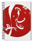 Calligraphy Cola Spiral Notebook