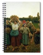 Calling In The Gleaners Spiral Notebook