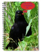 Calling You Spiral Notebook