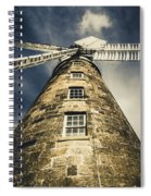 Callington Mill In Oatlands Tasmania Spiral Notebook