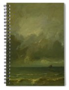 Calm Before The Storm 1870 Spiral Notebook
