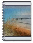Calm Dawn Tide Montage Spiral Notebook