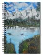 Calm Lake Spiral Notebook