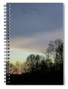 Calm On The Horizon Spiral Notebook