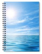 Calm Seascape Spiral Notebook