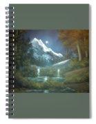 Calming Night Spiral Notebook