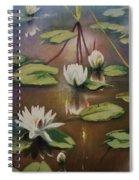 Calming Pond Spiral Notebook