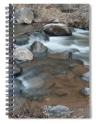 Calming Runnels Spiral Notebook
