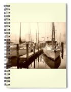 Calmly Docked Spiral Notebook