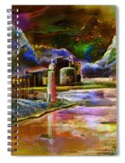 Calpe 02 Spain Spiral Notebook