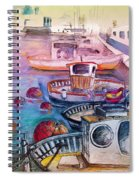 Calpe Harbour 03 Spiral Notebook