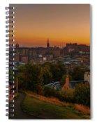 Calton Hill Spiral Notebook