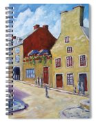 Calvet House Old Montreal Spiral Notebook