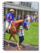 Calvin Borel Spiral Notebook