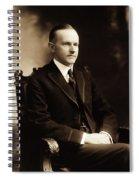 Calvin Coolidge Portrait Spiral Notebook