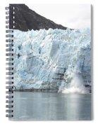 Calving Glacier Spiral Notebook