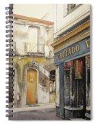 Calzados Victoria-leon Spiral Notebook