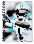 Cam Newton Letting It Fly Spiral Notebook