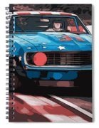 Camaro Z28 Transam 1969 Spiral Notebook
