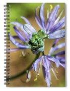 Camas Bud To Bloom Spiral Notebook