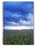 Camas Glory At Camas Prairie In Idaho Spiral Notebook